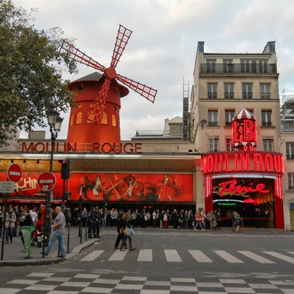 Lo storico Moulin Rouge