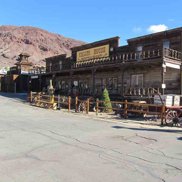 Calico the ghost town California